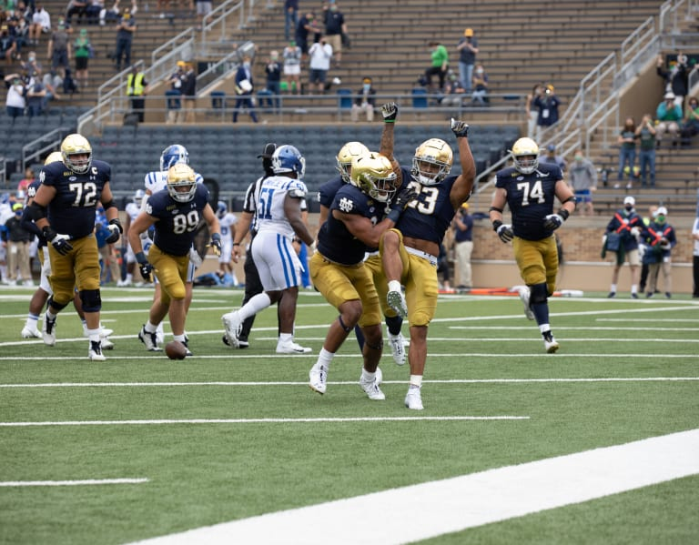 BlueAndGold - Chain Mail: Can Notre Dame's Rushing Operation Carry The Irish All Year?