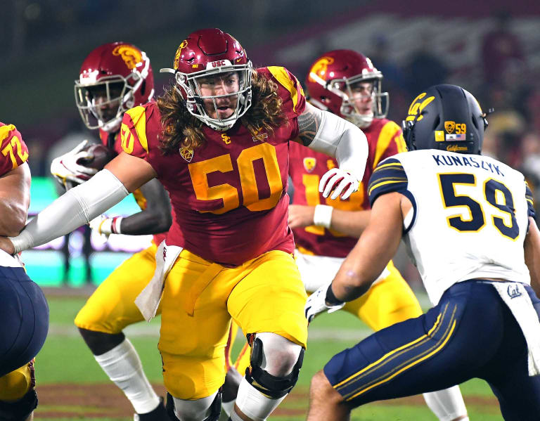 TrojanSports  -  USC brings back former offensive lineman Toa Lobendahn in GA role