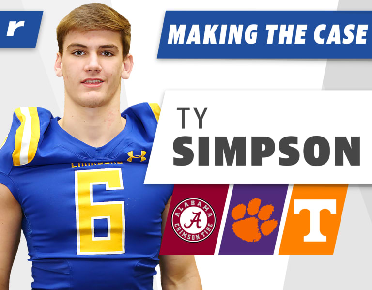 BamaInsider - Making the Case: Rivals100 QB Ty Simpson