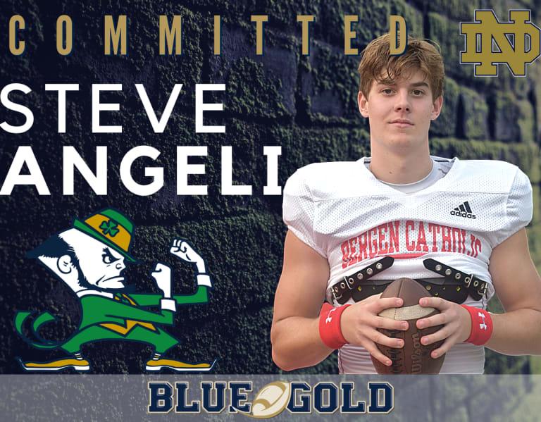 BlueAndGold - Four-Star QB Steve Angeli Commits To Notre Dame Football - Irish Illustrated