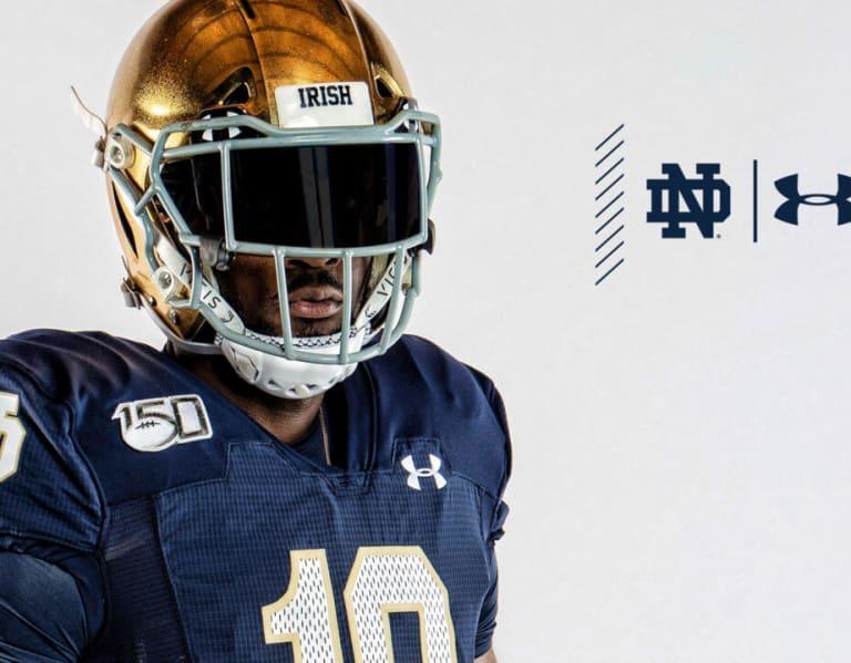 BlueAndGold - Notre Dame Reveals 2019 Alternate Uniform