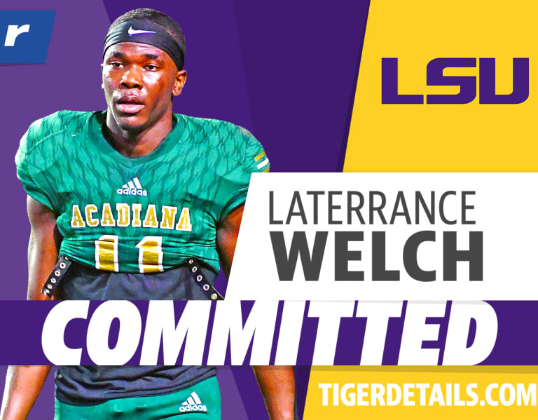 Rivals.com  –  Rivals250 CB Laterrance Welch honors Mom with LSU commitment