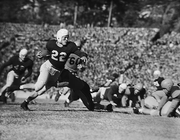 Top 25 Players In UNC Football History: No. 1 - Charlie Justice