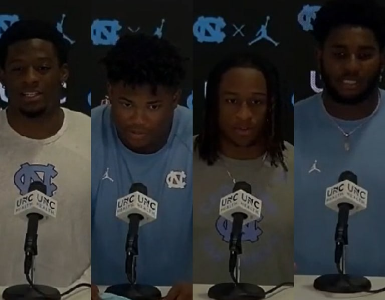 UNC Defensive Players Discuss First Two Games, Virginia, And More