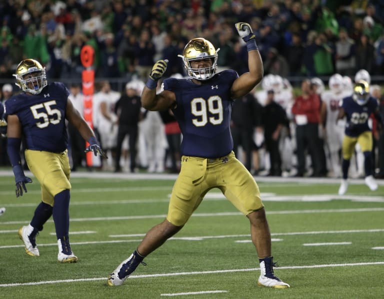 BlueAndGold - Los Angeles Chargers Draft DT Jerry Tillery In The ...