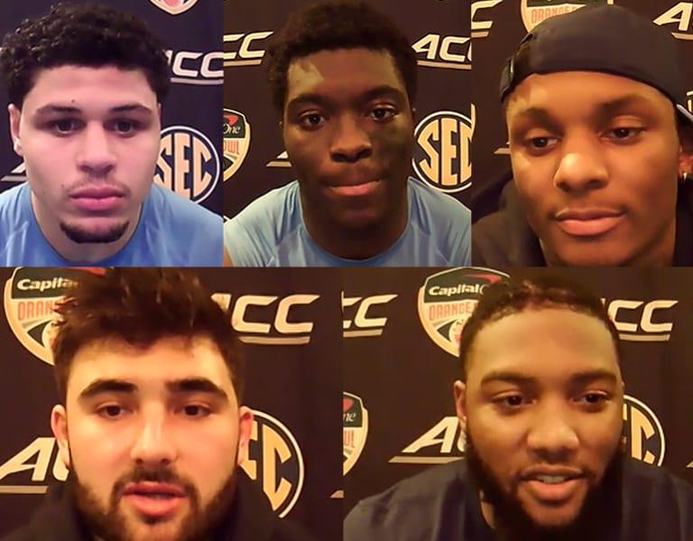 Video: UNC Players Post-Orange Bowl Interviews
