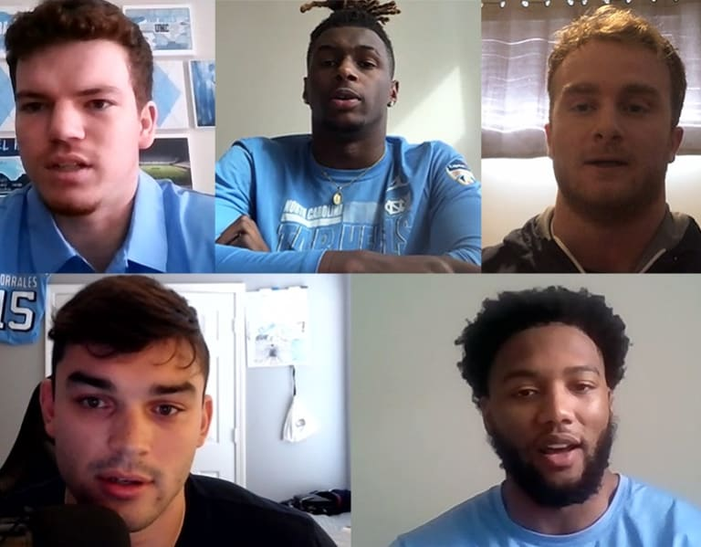 UNC Football Returning Seniors Discuss Why They're Coming Back