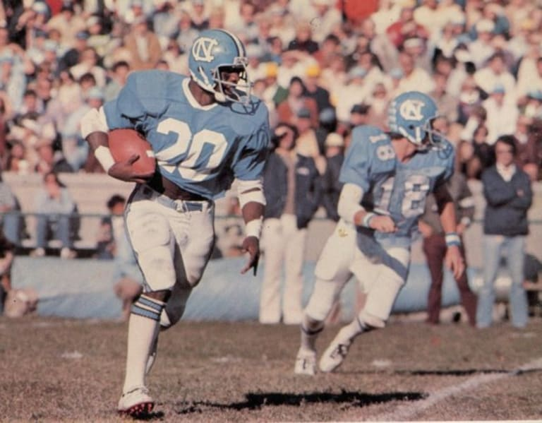 Top 25 Players In UNC Football History: No. 2 - Amos Lawrence