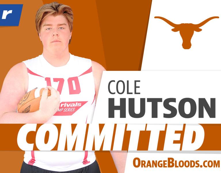 Rivals.com  –  Rivals250 OL Cole Hutson commits to Texas