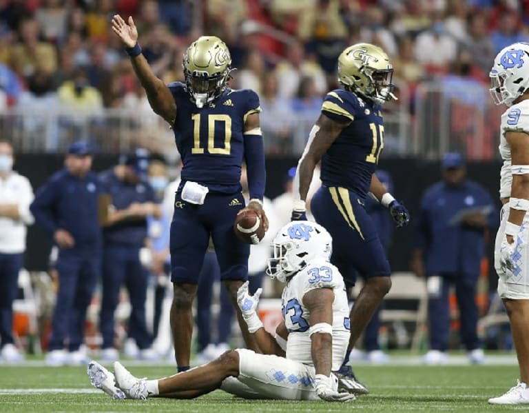 Tar Heels Didn't Plan Much For Georgia Tech QB Sims, And It Proved Costly