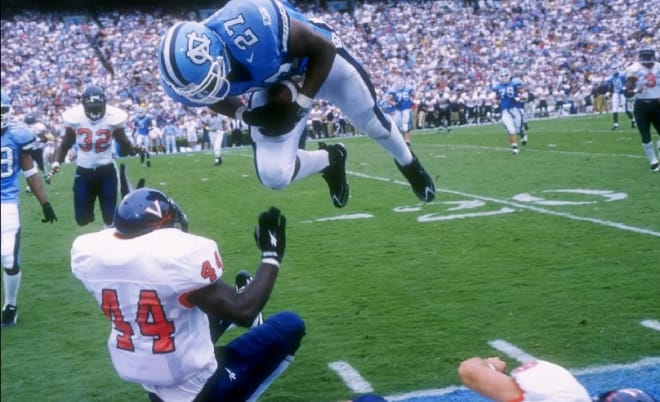 UNC's History As A Top 5 Football Team