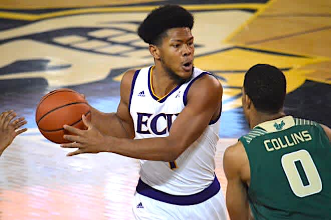 East Carolina All-AAC forward Jayden Gardner made his intentions known that he will transfer.