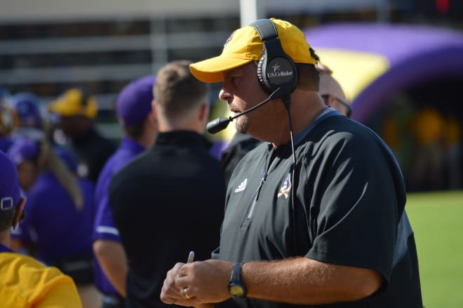 ECU defensive coordinator David Blackwell says Temple poses challenges for the Pirates.