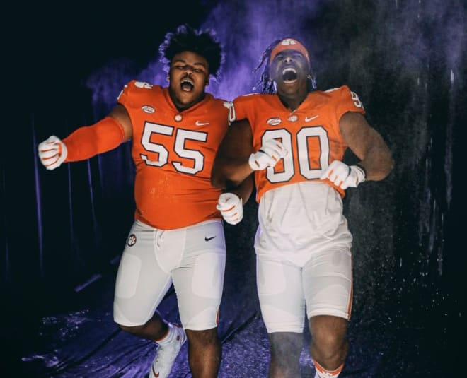 Payton Page (left) and Korey Foreman (right)