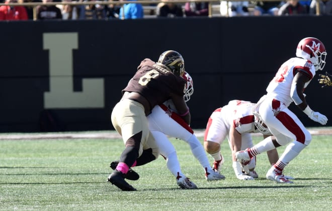 Western Michigan Broncos defensive tackle Ralph Holley