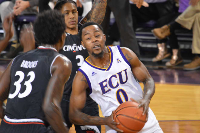 Scrappy guard Isaac Fleming and ECU take to the road for the first of two American Athletic Conference games when the Pirates take on Memphis Thursday night at the FedEx Forum. Game time is at 9 o'clock on ESPNU.