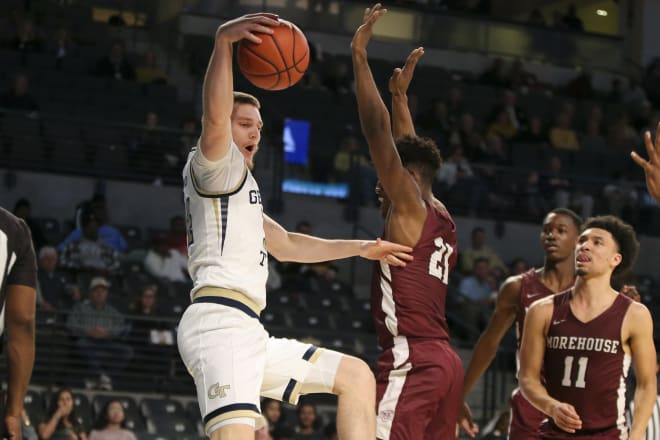 Didenko in rare action against Morehouse last year