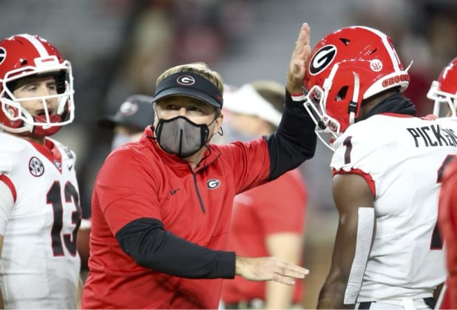 Kirby Smart touched on a number of subjects with Mike Farrell of Rivals Wednesday.