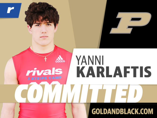 Yanni Karlaftis will stay home and play for Purdue