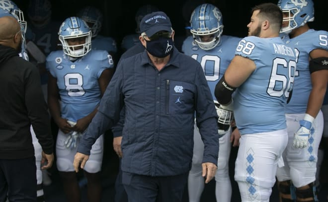Spring practice doesn't start for another month, but UNC released some relevant program information Tuesday afternoon.