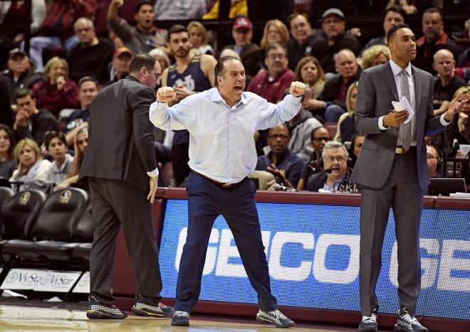 Notre Dame coach Mike Brey was adamant Saturday after a one-point loss to FSU.