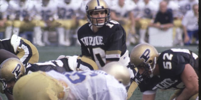 Scott Campbell, a three-year starting quarterback from 1981-83 who still ranks sixth in all-time passing yards at Purdue, turns 59 today.