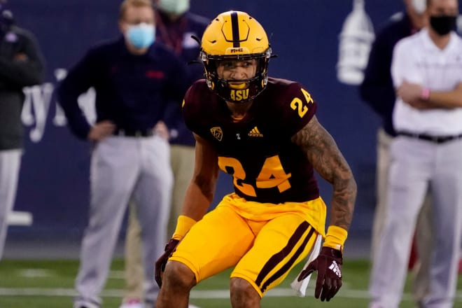 """Hawkins on Chase Lucas: """"There was no corner that I saw on tape that was better than Chase Lucas last year. And I think a lot of people on the outside looking in noticed that as well."""""""