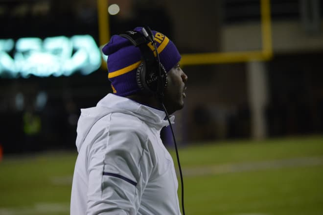 Pirate head coach Scottie Montgomery and ECU hit the road for an AAC Friday contest at Cincinnati.