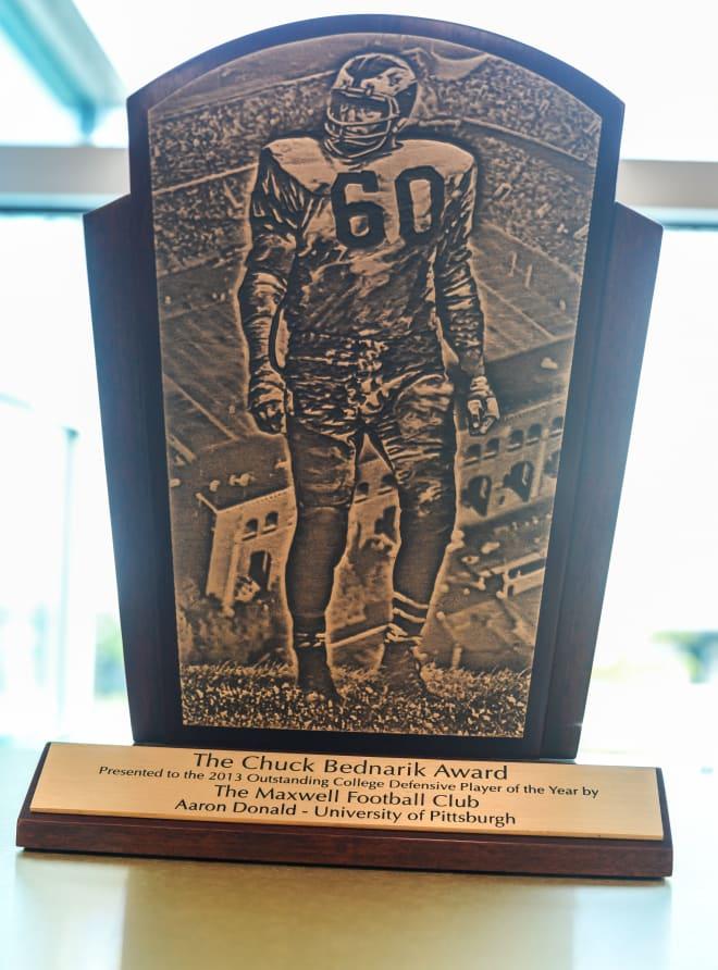 Aaron Donald's Bednarik Award
