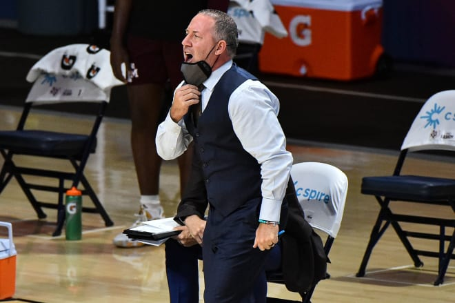 Texas A&M head coach Buzz Williams.