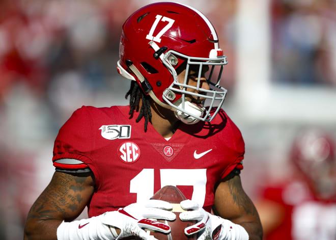 Alabama Crimson Tide receiver Jaylen Waddle. Photo | Getty Images