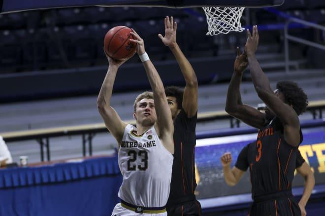 Notre Dame Fighting Irish men's basketball junior guard Dane Goodwin