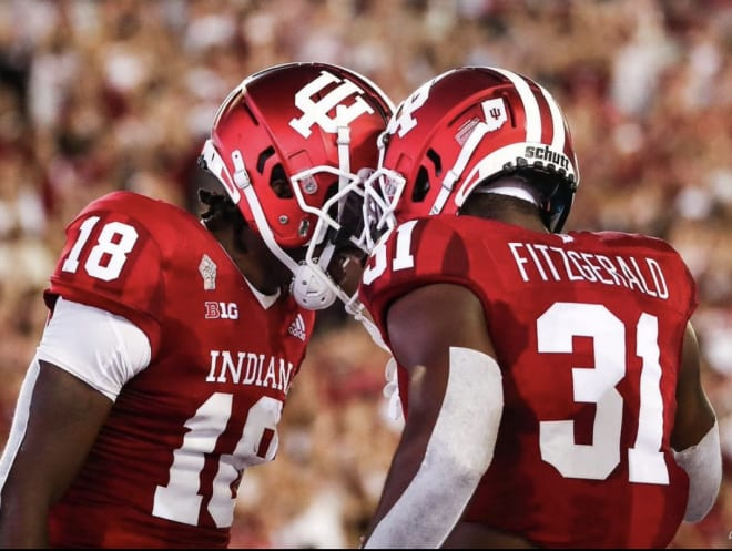 So far, IU has lost its only matchup against a ranked opponent in 2021. Will it happen again? (IU Athletics)