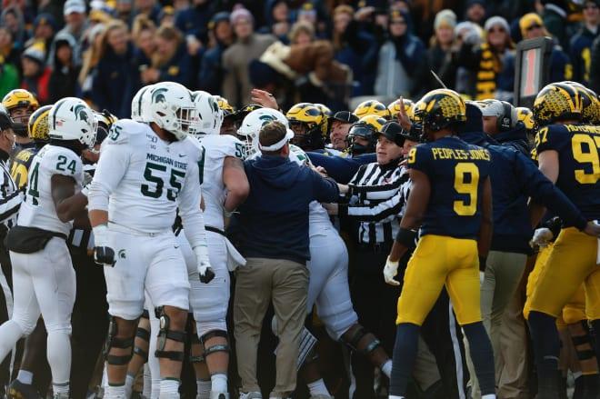Michigan Wolverines football vs. MSU