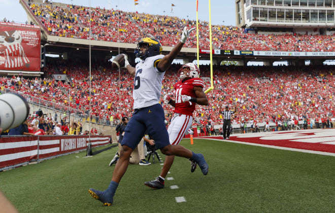 Michigan Wolverines football Cornelius Johnson