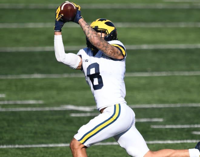 Michigan Wolverines Football Recipient Ronnie Bell