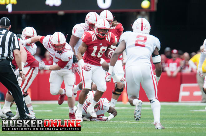 RB Tre Bryant(18) and DB Tony Butler(2)