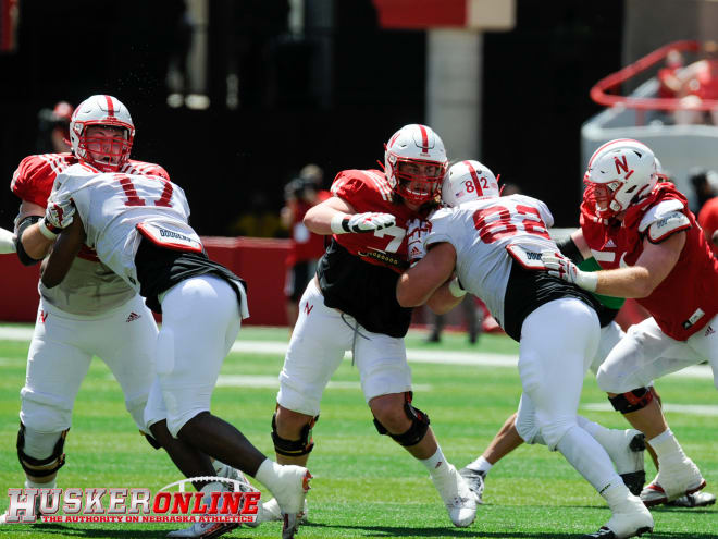 In terms of talent, depth, and recruiting profile, Nebraska's offensive line this season is the best it's been under Scott Frost.