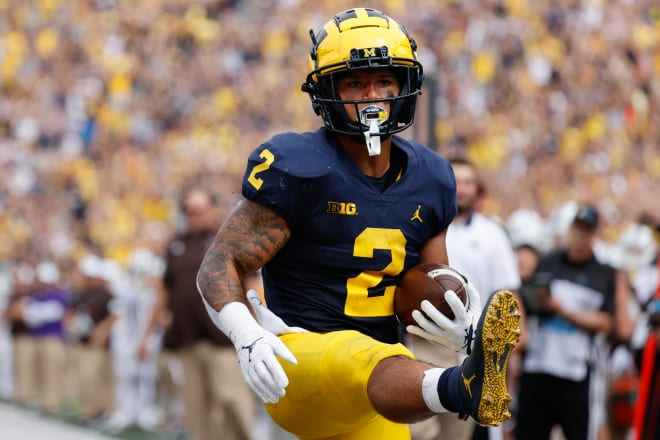 Michigan football running back Blake Corum