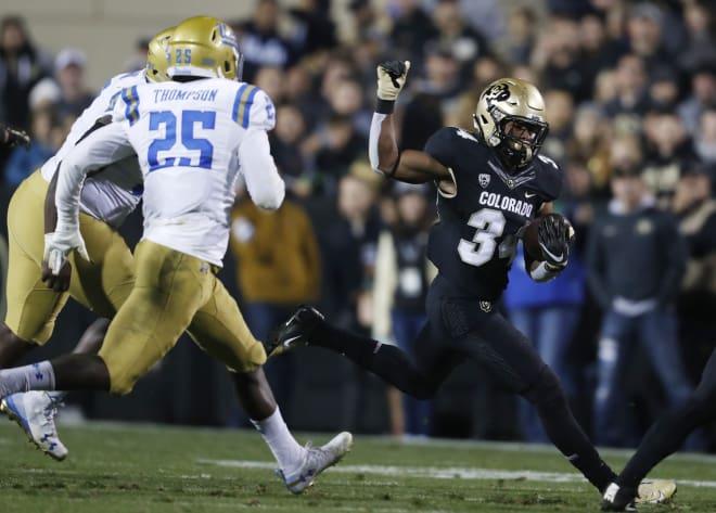 Travon McMillian in action versus UCLA