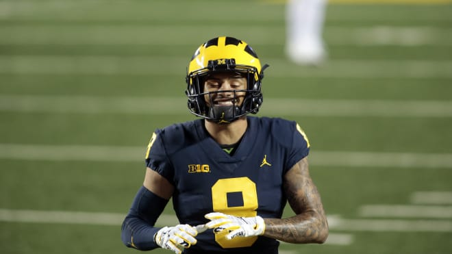 Michigan Wolverines football junior wide receiver Ronnie Bell leads the team in receiving this season, and did so in 2019 too.