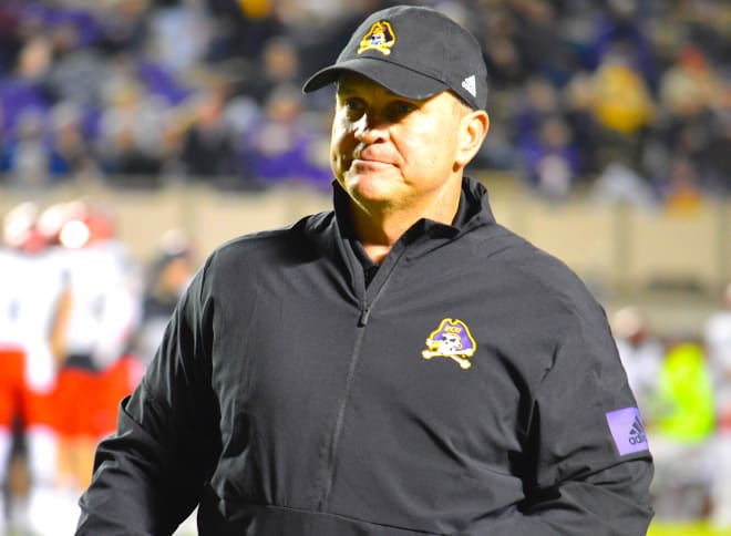 Mike Houston and East Carolina prepare for Senior Day against Tulsa in Dowdy-Ficklen Stadium on Saturday.