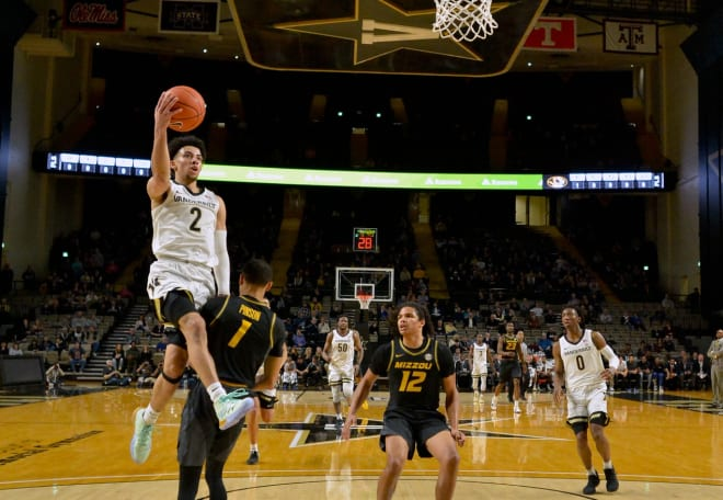 Scotty Pippen Jr. leads Vanderbilt into conference play.