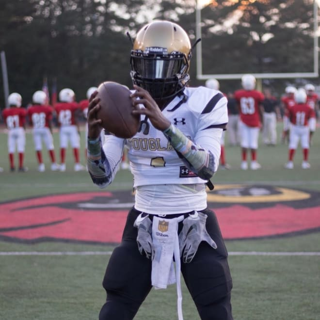 Juan Powell out of Douglass High in Atlanta made his commitment to East Carolina Wednesday night.