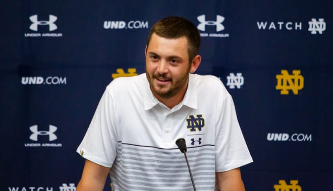 Notre Dame Fighting Irish football offensive coordinator Tommy Rees