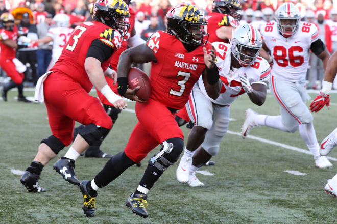 Former Maryland quarterback Tyrrell Pigrome committed to Western Kentucky on Saturday.