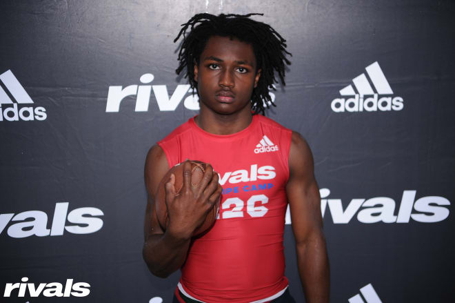 Three-star cornerback A'Koury Lyde committed to Wisconsin in June.