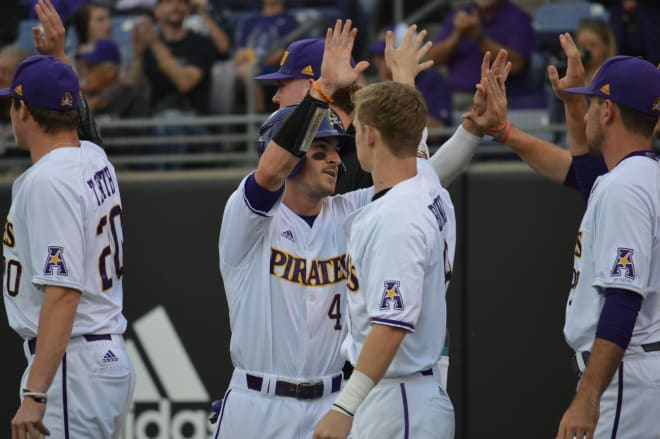 ECU will serve as a regional host for this year's NCAA Baseball Tournament starting this Friday in Clark-LeClair Stadium.