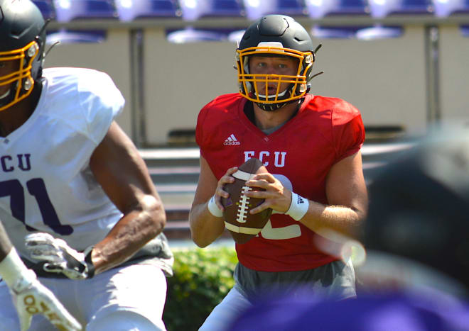 East Carolina put together a solid Saturday scrimmage in Dowdy-Ficklen Stadium Saturday morning.