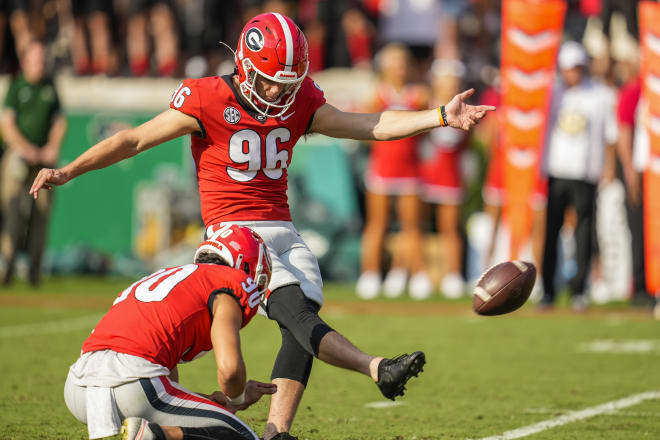 Jack Podlesny has missed two field goals to start the 2021 season. (Dale Zanine/USA TODAY Sports)
